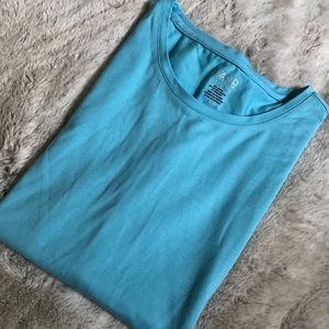 Blue IZOD performance modal blend tee-like new!